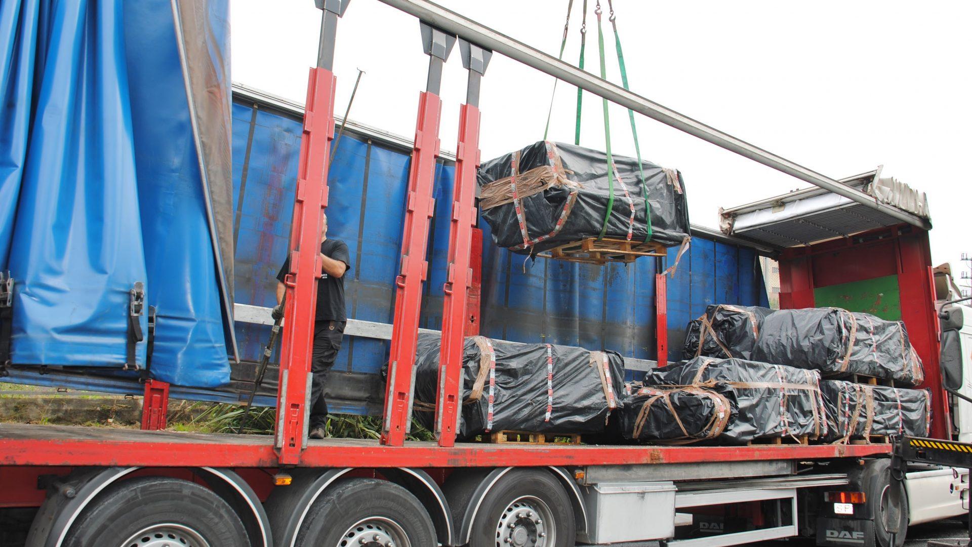 Sourced contaminated scrap metal