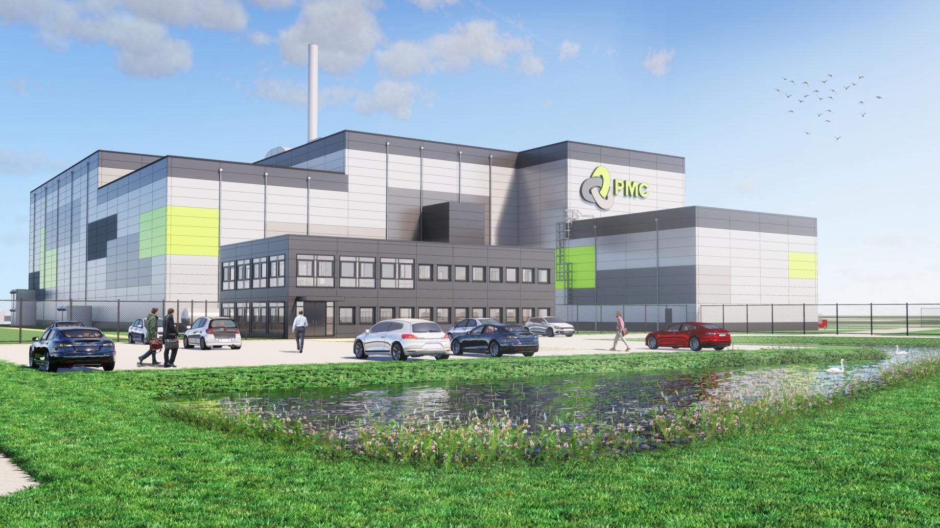 Bouw innovatieve staalrecyclingfabriek PMC in Delfzijl gestart