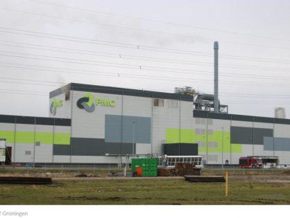 Gesmolten metaal op bedrijfsvloer zorgt voor brandjes bij Purified Metal Company (PMC) in Farmsum