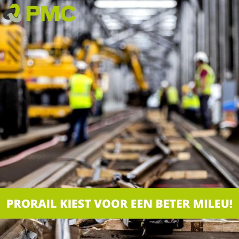 ProRail kiest voor veilige en duurzame verwerking van haar vervuilde staal bij PMC💚